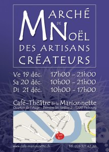 Flyer du Marché de Noël des Artisans Créateurs 2008