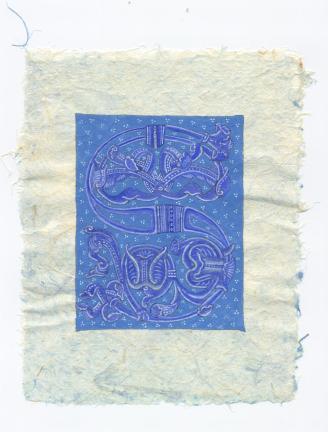 lettre S bleue 21.03.2011